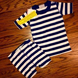 Hanna Andersson Shorts Pajama Set Size 90